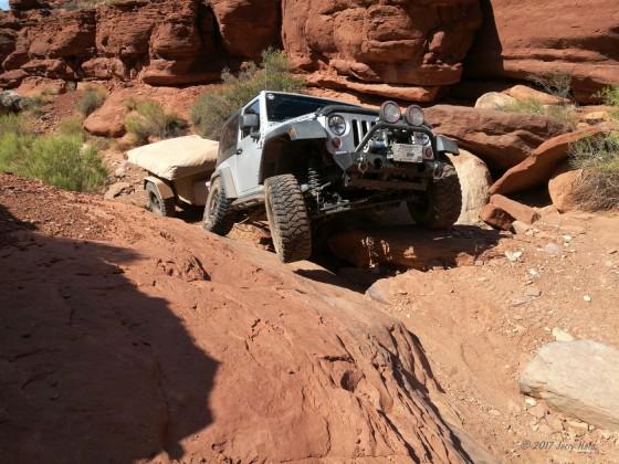 Posing in Moab