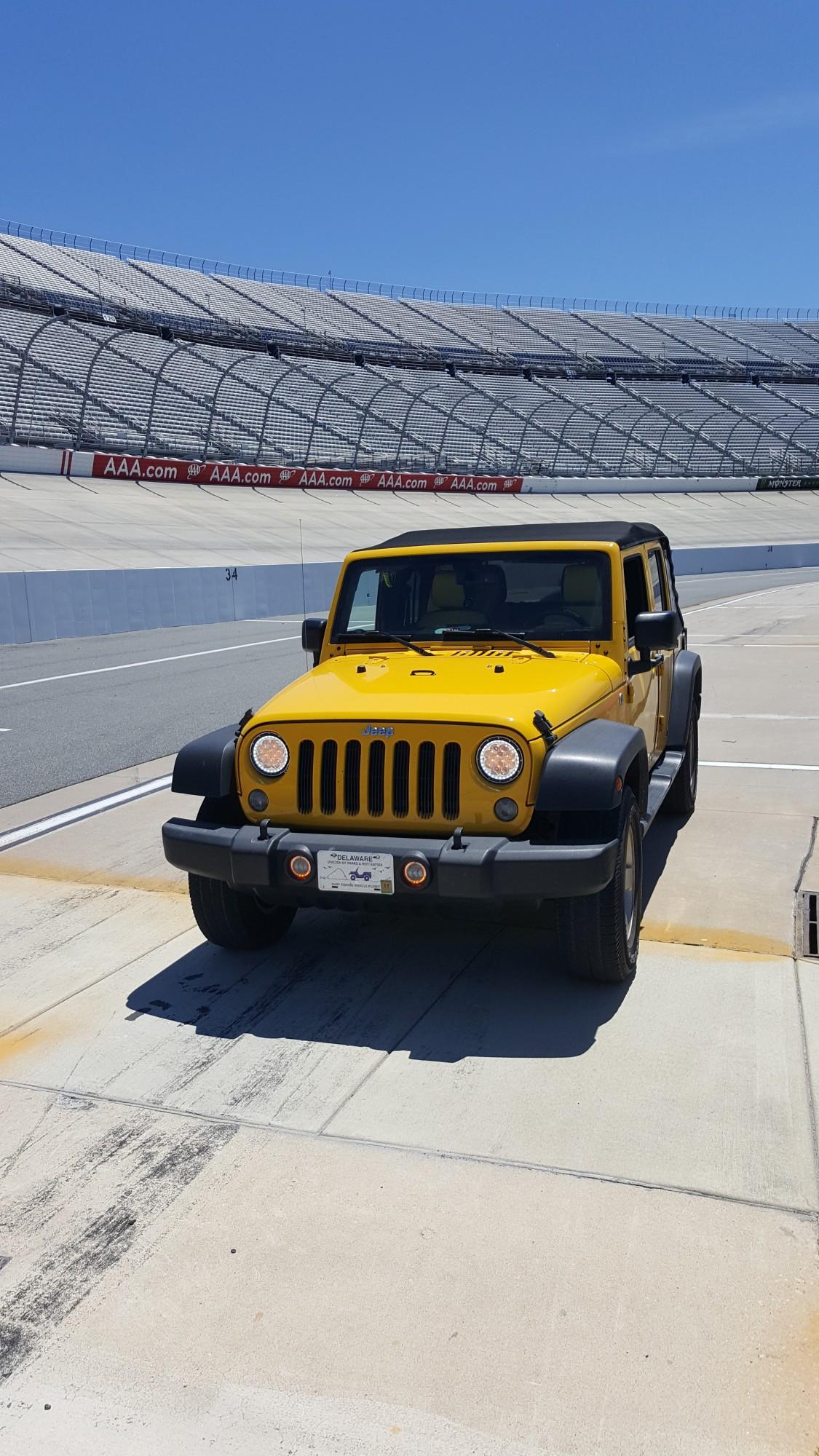 Pit Row Dover International Speedway