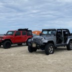 Weekend on the beach with friends
